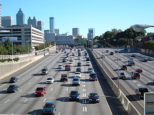 Downtown Connector - Image: Downtown connector daytime