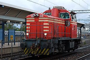 VR Class Dr14 - A Dr14 at Pasila railway station.