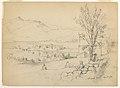 Drawing, Artists Sketching at Chocorua Pond, New Hampshire, September 28, 1854 (CH 18565875).jpg