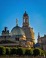 Dresden, Blick auf das Kuppel Essemble der Altstadt vom Schiff aus (11040036816).jpg