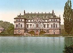 El palacete hacia 1900