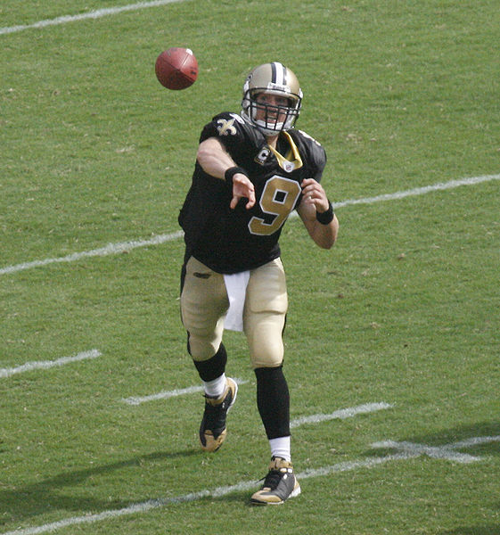 Brees Throws Seven Touchdowns; Saints Win Thriller