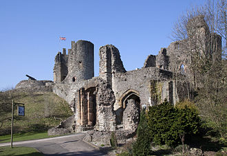 Dudley Castle - The castle was partly demolished in 1646 on the orders of Parliament.