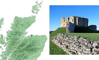 Duffus Castle - Image: Duffuscastle 4