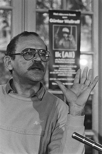 Günter Wallraff - Wallraff in 1985