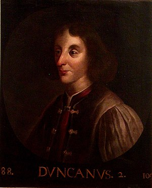 Duncan II of Scotland - Image: Duncan II of Scotland (Holyrood)