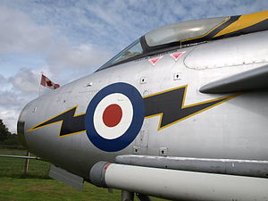 Dumfries and Galloway Aviation Museum - The museum's English Electric Lightning F53