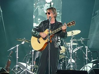 Jacques Dutronc - On stage in Lorient, 2010