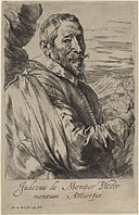 Dyck Anthonis van - Etching of Joost de Momper the Younger, fifth state - circa 1632 to 1641.jpg