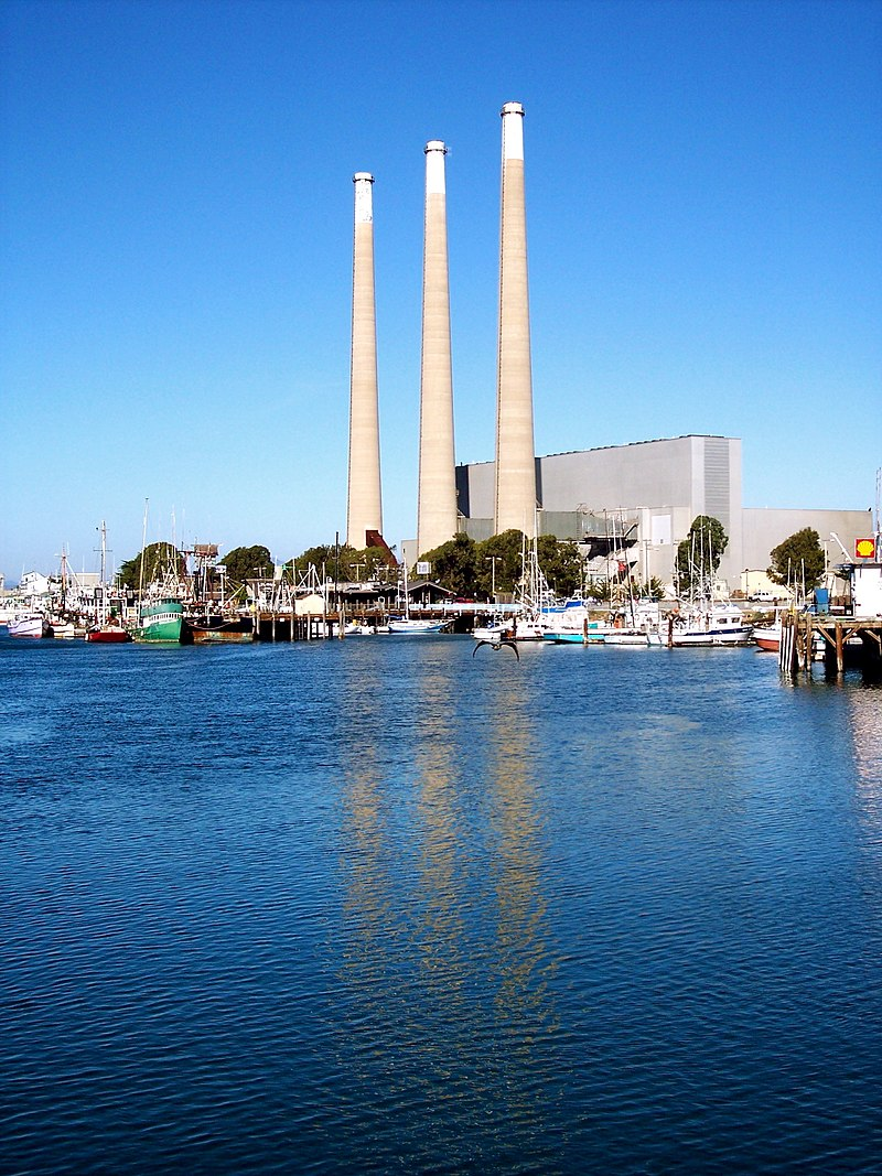 Dynegy Power Plant, Morro Bay, CA, 1 January, 2009.JPG