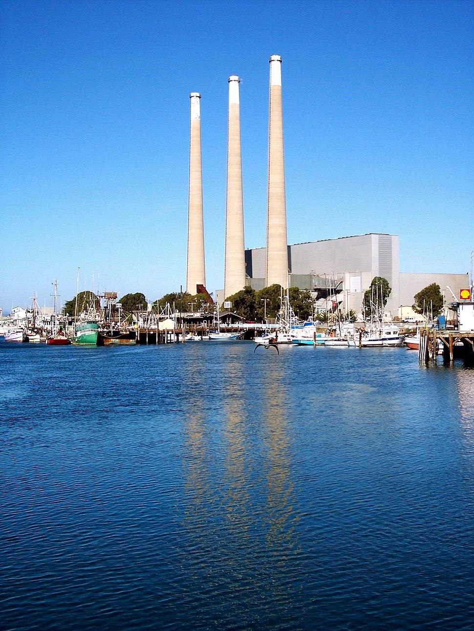Dynegy Power Plant, Morro Bay, CA, 1 January, 2009