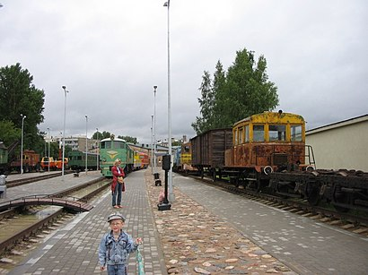 How to get to Latvian Railway History Museum with public transit - About the place