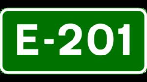 N8 road (Ireland) - Image: E 201 euroroute IE