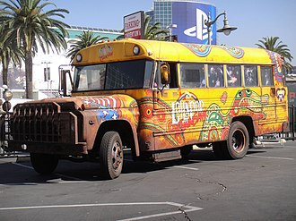 Superior Coach Company - Former 1970s Superior/Ford F600 school bus in California