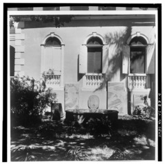 ELEVATION OF NORTH BAYS OF SOUTHWEST WALL - Christiansted Lutheran Church, 4 King Street, Christiansted, St. Croix, VI HABS VI,1-CHRIS,37-4.tif