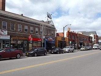 Elmwood Village, Buffalo - Image: EV South