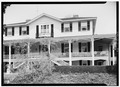 EXTERIOR, SOUTH FRONT - Kamchatka, Kirkwood Lane, Camden, Kershaw County, SC HABS SC,28-CAMD,11-1.tif