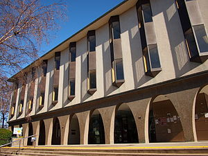Australian National University Library - J. B. Chifley Building