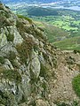 East side summit crags on Causey Pike - geograph.org.uk - 257063.jpg