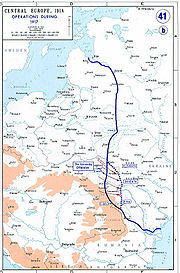 The Eastern Front, as of 1917
