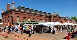 Eastern Market - southeast corner