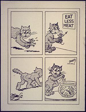 Eat Less Meat - NARA - 533914