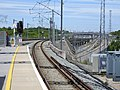 Ebbsfleet International railway station third rail starts 5173.jpg