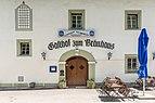 Ebenthal Gurnitz Kirchenstraße 30 Altes Bräuhaus Portalbereich 12062019 6792.jpg