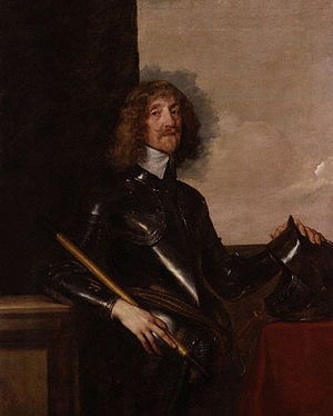 Edmund Verney (Cavalier) - Portrait of Sir Edmund Verney, circa 1640, by Sir Anthony van Dyck