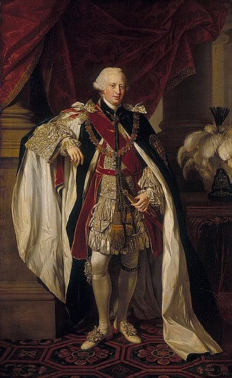 Prince Edward, Duke of York and Albany - The Duke of York and Albany in the robes of the Order of the Garter, approx. 1764–1765
