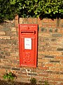 Edward VII postbox, Prince's Avenue, Caerphilly - geograph.org.uk - 1850431.jpg