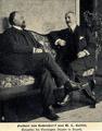 Edwin von Seckendorff und der US-Gesandte William W. Russell in Bogotá, 1905.png