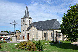 The church in Fridefont