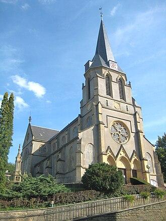 Algrange - The church in Algrange