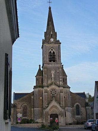 Semblançay - The church in Semblançay