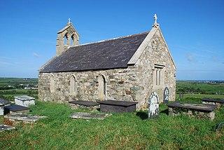 Ceidio village in Gwynedd, Wales