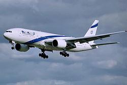מטוס אל על מדגם בואינג 777