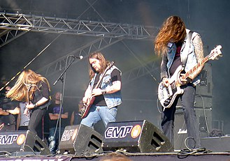 Electric Wizard - Electric Wizard performing at Tuska Open Air 2011.