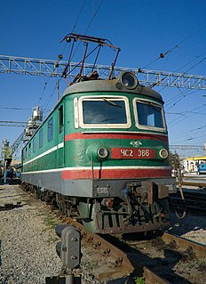 ChS2 class of 1062 Soviet electric locomotives