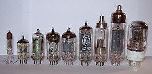 Vacuum tube - Modern vacuum tubes, mostly miniature style