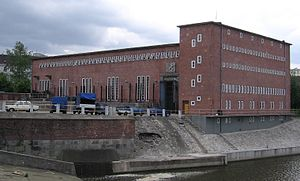 Max Berg - Hydroelectric plant in Wrocław, 2006.