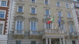 Embassy of Italy, London - Image: Embassy of Italy, London