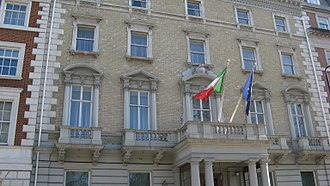 Mayfair - The London Italian Embassy is in Mayfair.