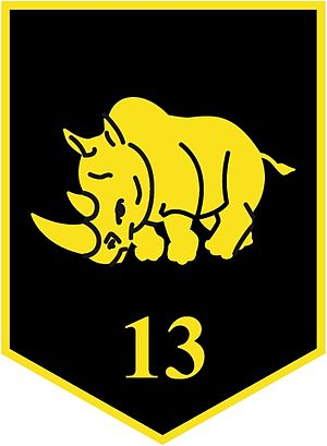 13th Light Brigade (Netherlands) - Logo of the 13th Light Brigade