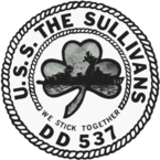 Emblem of USS The Sullivans (DD-537).png