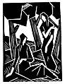 Emil Maetzel, Holzschnitt, Titelseite »Die Aktion«, Heft Nr. 5 & 6 von 1918.jpg