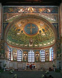 L'abside della basilica di Sant'Apollinare in Classe