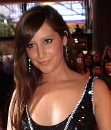 Tisdale in 2008, during the premiere of High School Musical 3: Senior Year