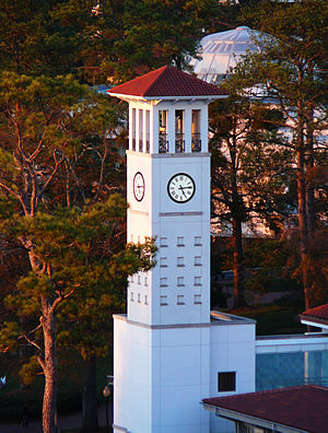 History of Emory University - Clock tower at Cox Hall