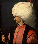 Suleyman I attributed to school of Titian c.1530
